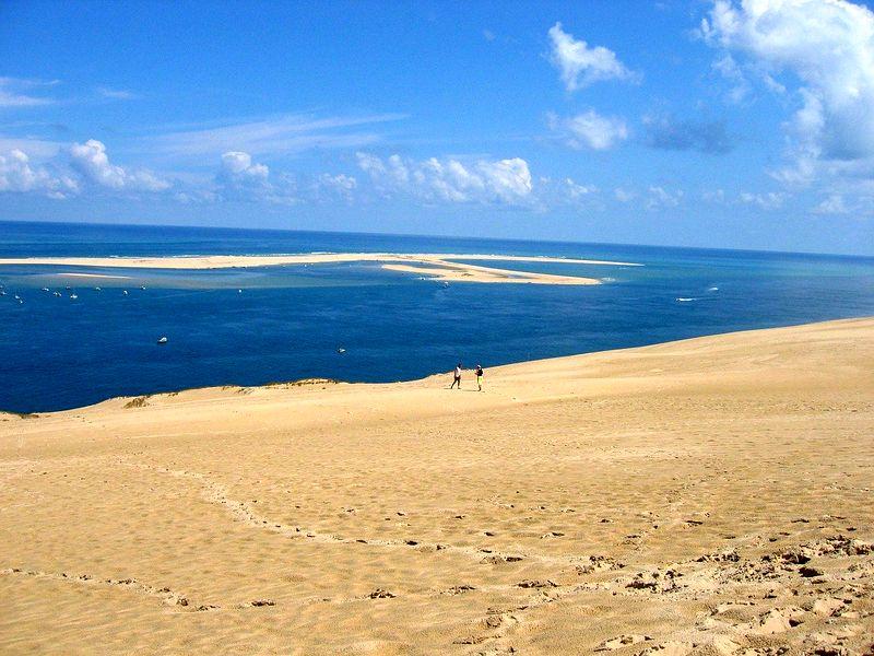 vue sur la dune du pilat
